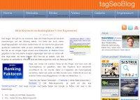 Meta-Keywords Experiment vom tagSeoBlog