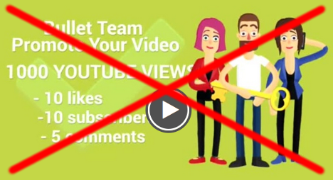 Keine Youtube-Views kaufen